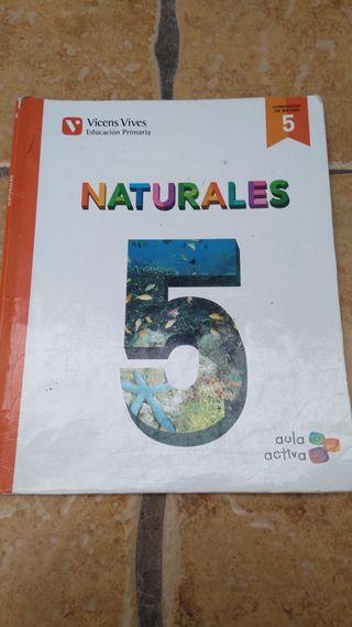 libro de texto de 5 de primaria de naturales