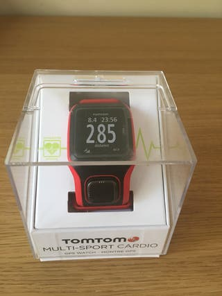Reloj deportivo- TomTom multisport cardio