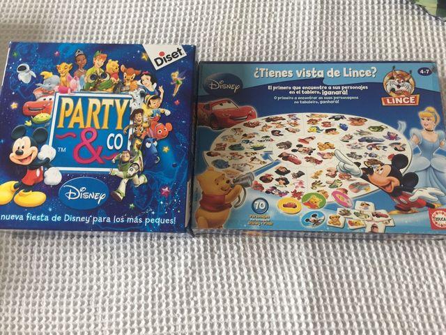 2 Juegos Mesa Party Amp Co Ed Disney Juego Lince De Segunda Mano
