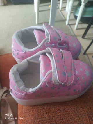 zapatos de niñ talla 21