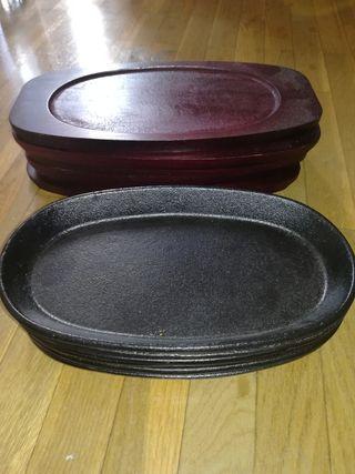 planchas de hierro para restaurant