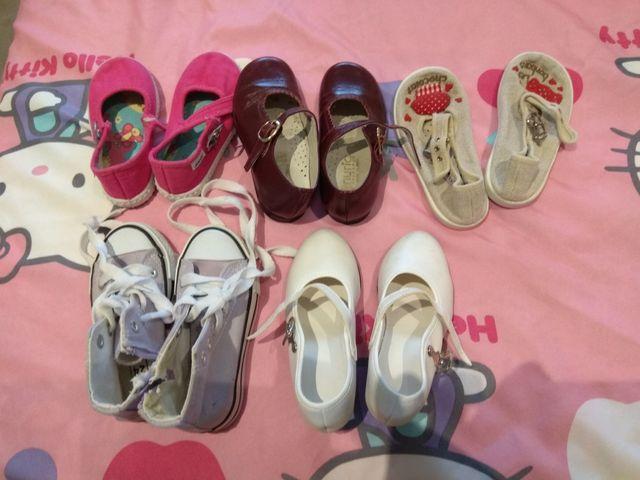 zapatos niña n 24