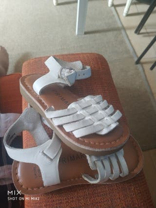 zapatillas de niña talla 21
