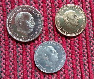 pesetas Franco 1973 proff
