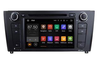 Pantalla GPS Android BMW Serie 1 04-12