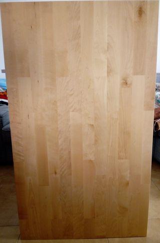Encimera de madera de IKEA