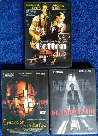 3 DVDs de Gansters