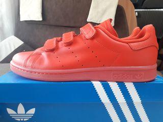 zapatillas adidas stan smith rojas