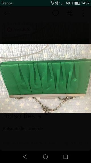 Bolso verde fiesta