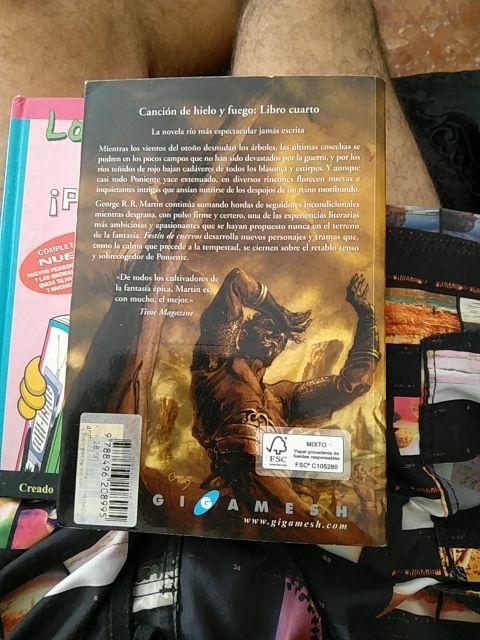 Great Cuarto Libro Juego De Tronos Images Gallery >> La ...