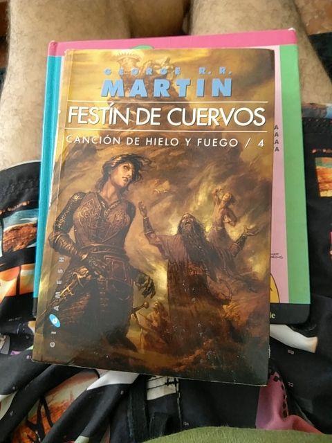 Cuarto libro Juego de Tronos de segunda mano por 5 € en Ceuta en ...