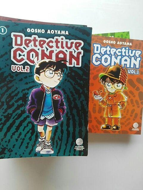Detective Conan v1: 1, 2; v2 1 al 17 y 19 (Planeta