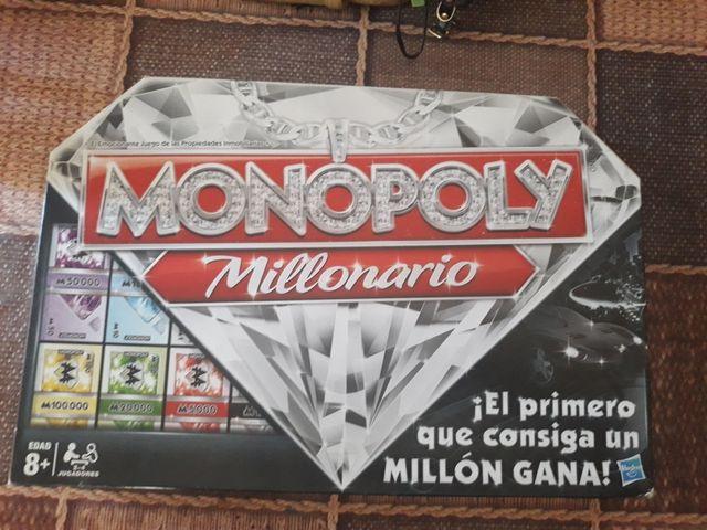 Juego De Mesa Monopoly Millonario De Segunda Mano Por 15 En