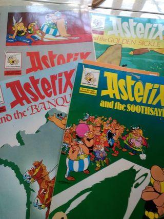 Comics Astérix inglés delprado
