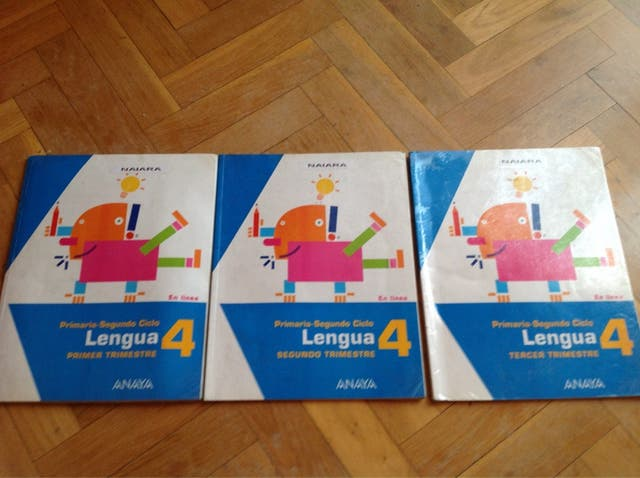 Libro lengua cuarto primaria de segunda mano por 10 € en Tres Cantos ...