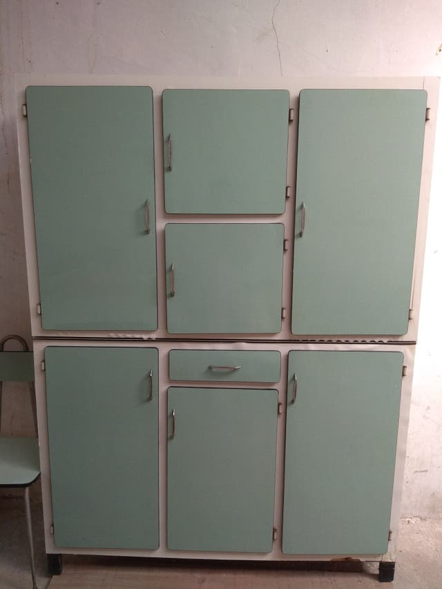 Alacena armario de cocina vintage de segunda mano por 200 for Armarios de cocina de segunda mano