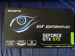 GeForce GTX 970 G1 Gaming Gigabyte Windforce 4GB