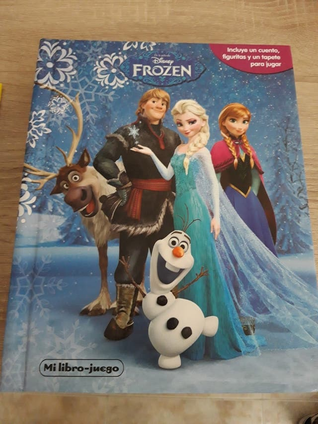 Cuento Disney Frozen