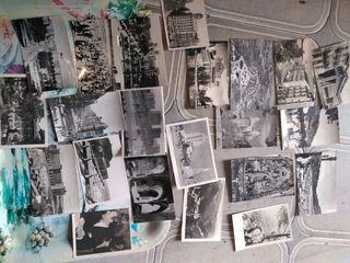 antiguas postales de los años 40,50,60,70,80