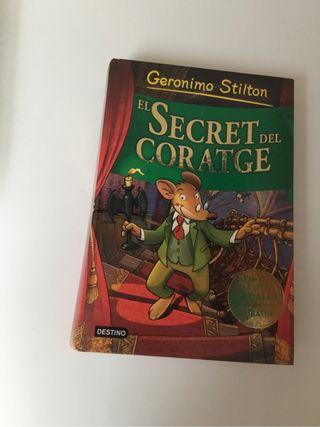 El secret del coratge Geronimo Stilton.