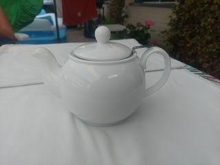 Tetera con filtro porcelana Tea Logic