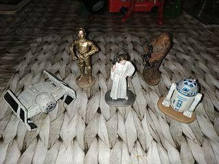 Figuras Star Wars Plomo