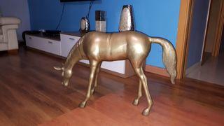 caballo bronce