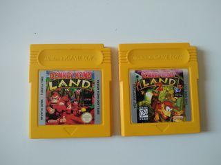 Donkey Kong Land (1 y 2) Game Boy