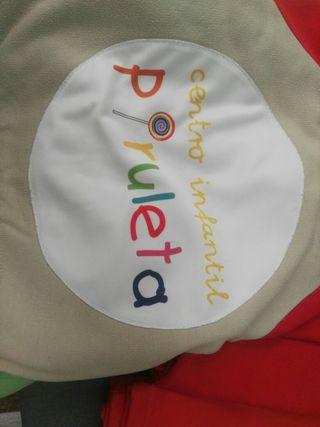 4 uniformes chandal centro infantil piruleta