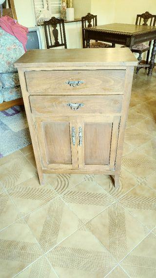 Armario de madera.
