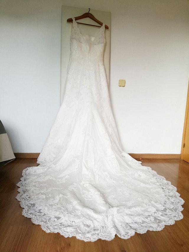 vendo vestido de novia pronovias de segunda mano por 450 € en