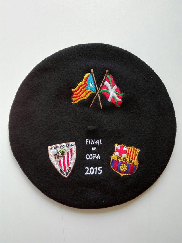 Txapela Boina De La Final De La Copa Del Rey 2015 de segunda mano ... 0a52a7d7d3a