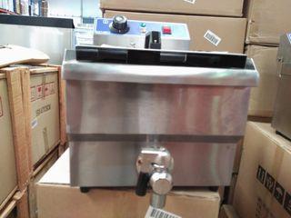 Freidora 10 litros eléctrica industrial