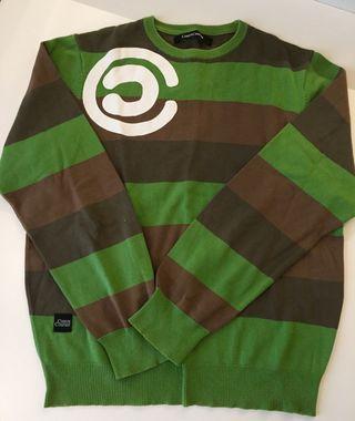 Jersey hombre verde