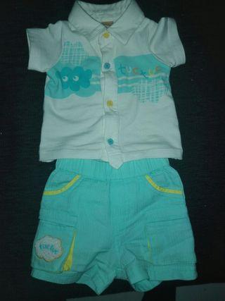 pantalon y camiseta talla 0 TUC TUC