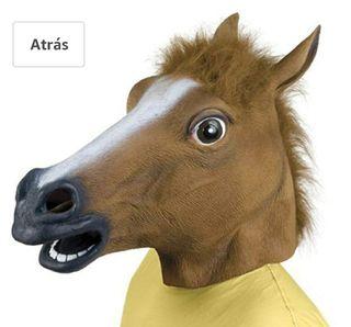 Máscara cabeza caballo Nueva
