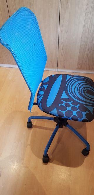 silla con ruedas para escritorio marca ikea