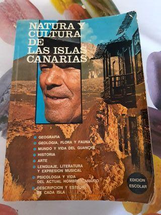 LIBRO Natura y Cultura de Las Islas Canarias 1978
