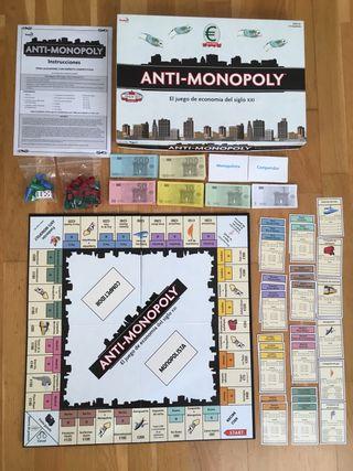 Juego Anti-Monopoly