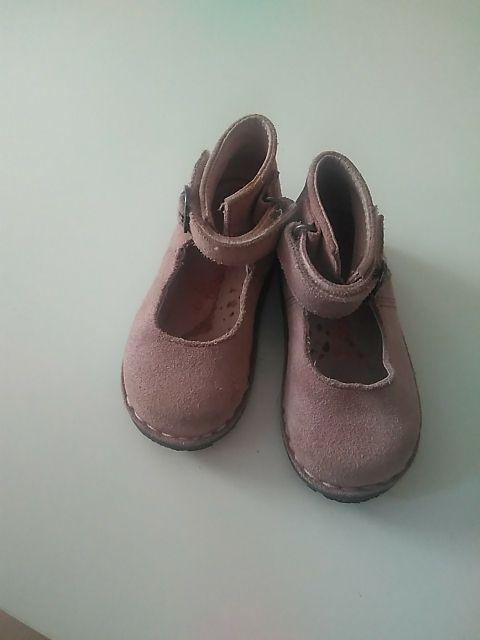 zapatos niña bota piel n 21