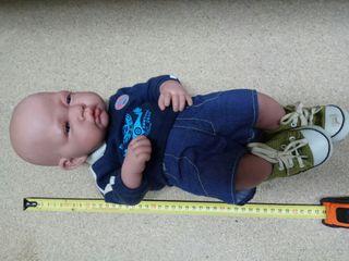 Muñeco bebe marca Antonio Juan reborn