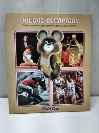 Juegos Olímpicos. ColaCao