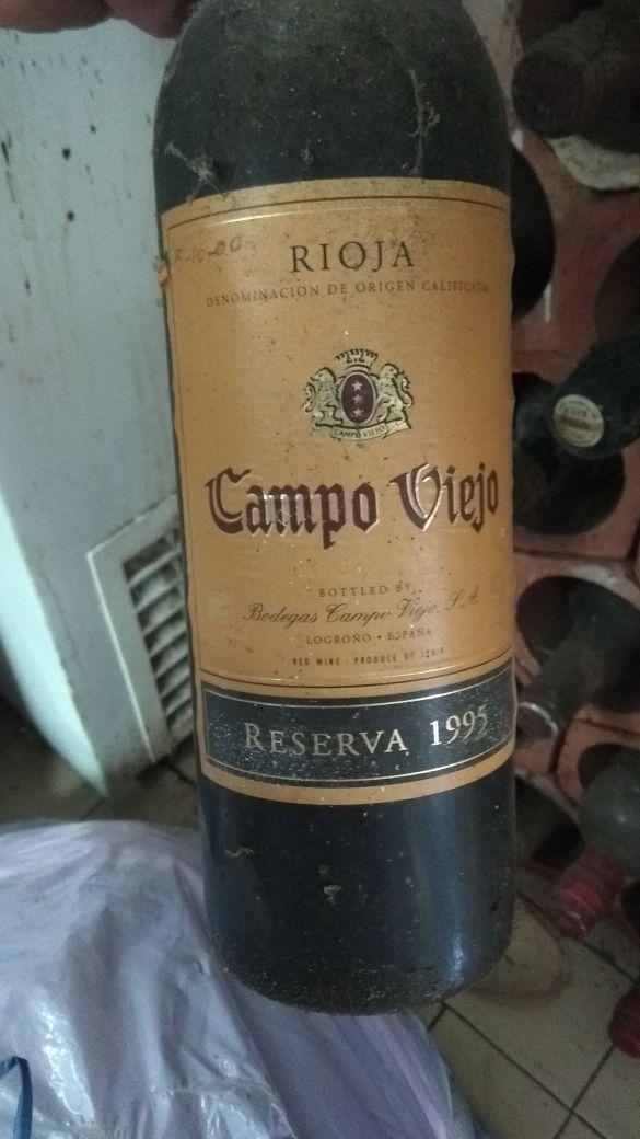 Botella de vino para coleccionistas