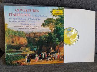 LP vinilo Deutsche Grammophon Ouvertures Italienne