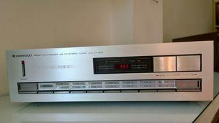 Kenwood KT-500 AM/FM Stereo Tuner Vintage