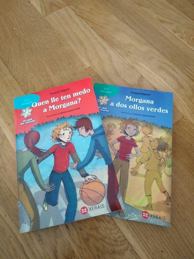 Libros lectura primaria 8 y 9 (Gallego)