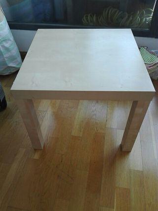 Mesa lack ikea de segunda mano por 3 en madrid en wallapop - Ikea mesa lack blanca ...