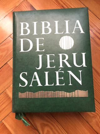 La Biblia de Jerusalén.
