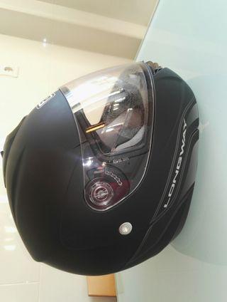 Nuevo Casco de moto fem. talla S