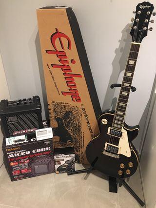 SuperPack Guitarra Electrica Epiphone